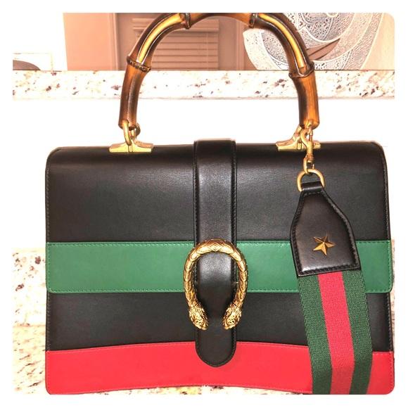 Gucci Handbags - Gucci - Dionysus Medium Top Handle Bag
